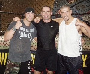 Jay White & Jay Thomson at Xtreme Couture