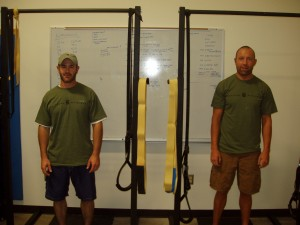 88 Pound Pull-Up Challenge... Congratulations Billy & Aaron!