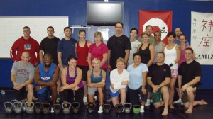 CF Kettlebell Certification - Fayetteville PD Training Center