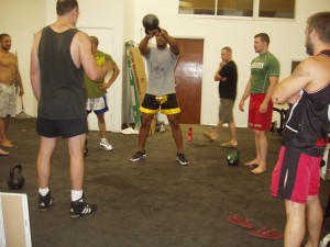 KB training at Jackson's Submission Fighting