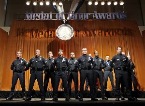 LAPD honors 17 officers with Medal of Valor