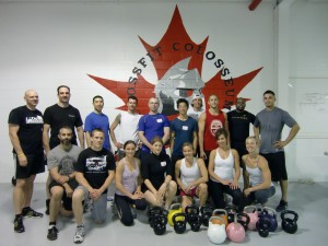 CrossFit Colosseum Kettlebell Certification - Toronto, Canada