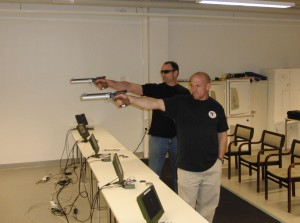 Target practice at Olympic Training Center - Vierumaki, Finland