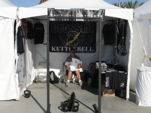 CrossFit Kettlebell - Tactical Athlete Booth - CrossFit Games 2010