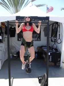 Pull-up + 45#, CrossFit Games 2010