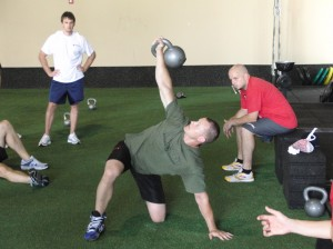 Brandon Millsapps demonstrating the TGU