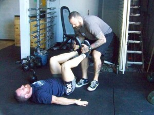 Hip Flexor Recruitment Drill, CFKB Cert