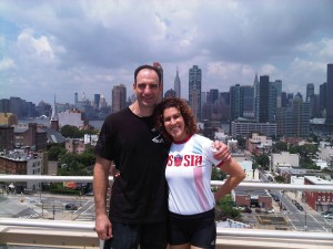 Jeff M. and Lorna Kleinman - NYC KB Championships, June 2011