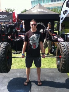 Big Mike Dead-lifting